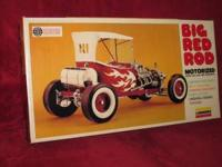 This is a Big Red Rod Kit No. 650M. It is motorized and