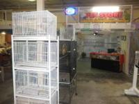 BIG SALE THIS WEEKEND 2 PARAKEETS PLUS CAGE AND FOOD 30