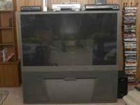 This is a very nice TV, just very big, it is about 7 or