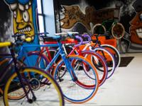 Big Shot Bikes known for its custom fixie bikes that