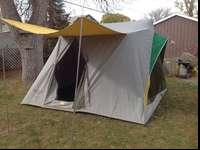 Big Springbar tent with awning & Springbar 996 3 man Tent Great Condition. for Sale in Salt Lake ...