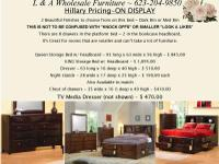Provide us a call at . L & & A Wholesale Furniture is a