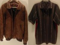 USED big/tall mens sized clothes -- good condition Some