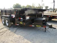 Trailer information New 2015 Big Tex 10LX 12, 83 amp