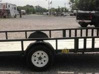 Big Tex 14ft Flat bed trailer. Slightly used but in
