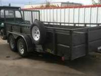 Big Tex trailer 14 ft. Two thirty-five hundred lb