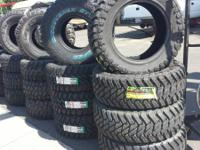 BIG AND BIG TIRES ON SALE   LT 33X12.50R15 MUD TIRES
