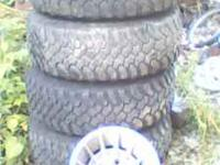 I have some nice rims and tires that came off of my