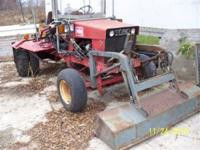 Very unique but strong Utility Tractor for sale by
