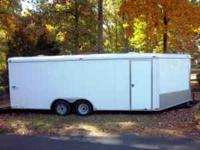 28 foot long v-nose Interstate West trailer 2 5/8ths