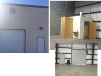 4000 SQFT warehouse for rent space has a restroom open