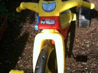 Big Wheel trike in almost new condition. Replica of the