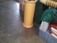 Big Wood Column Stand to be used in so many rooms. For