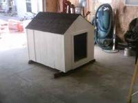 new dog house 3+4 foot  Location: crete