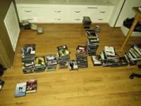 Selling my dvd collection of just about 500 dvds from