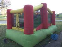 Great big bounce house, commercial grade. Made by