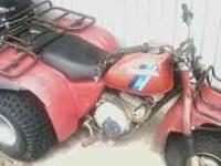 This is a like-new Big Red 3 wheeler. It is perfect for