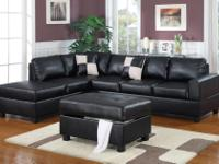 Type:Living RoomType:SECTIONAL3 PC FAUX LEATHER