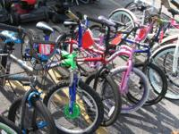 WE HAVE A BIG CHOICE OF BICYCLES. FROM YOUTHFUL