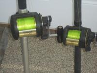 DeepSea or BigGame River Fishing Rods and Reels.