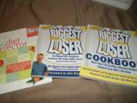 TWO BIGGEST LOSER BOOKS AND A DIET BOOK ALL FOR $10- A