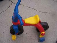 I have this slightly used Fisher Price 1,2,3 Bike for