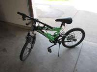 "For sale 20"" bike 6 speed but only 2 gears work I think"