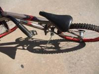 FAIRLY NEW BIKE FOR REPAIRS OR PARTS, MISSING LEFT