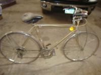 I have this ? speed bike for sale. Tires hold air. I do