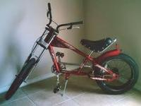 This is a stingray chopper red addition. I will