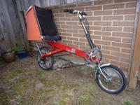 Recumbent bicycle for sale with customized rear