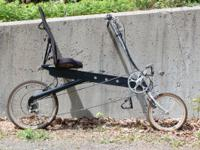 Bike E recumbent bike, many new upgraded components. In