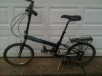 Up for sale is my Bike Friday Crusoe folding bike.The