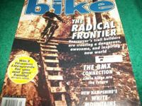 Bike magazine May 1998,The Radical Frontier, Vancouvers