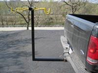 4 bike - bike carrying rack. Custom built - heavy steel
