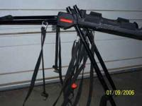 For sale is a bike rack called the Graber it hooks on