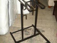 Was $125. Upright bicycle stand for garage, holds 4