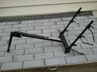 I have a new bike rack that I bought for my wifes jeep