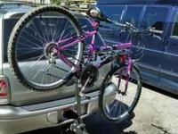 Will Hold 4 Bikes Hitch Mount With receiver for