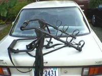 outback 3 bike rack. fits on suvs, vans, and truck of