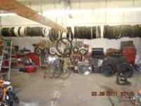 We have a big variety of new & used bikes for sale!