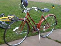 vintage schwinn 10 speed bike or best offer - $200