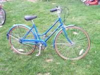 "Girls 26"" Schwinn Bike - 3 Speed - Front Hand Brakes -"