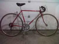 Good condition men's bicycle. Call Scott at , no