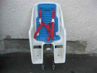 Older bike seat for toddlers. Works great! Call Todd
