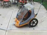 This bike trailer works well, I have used it for years