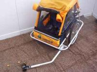 Bike trailer for bicycle good condition asking $65.00