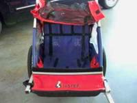 Instep Ride n Run trailer/stroller. Has all hardware to