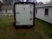 "2005 horton enclosed trailer 6'6"" ceiling fold down"
