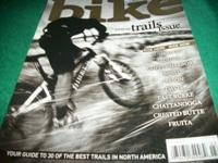Bike, March 2010, annual trails issue,Awesome Buzz
